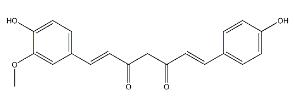 Demethoxycurcumin Chemical Structure