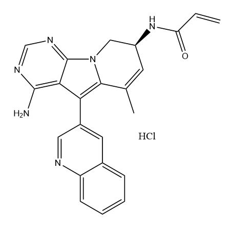 TAS6417 HCl Chemical Structure