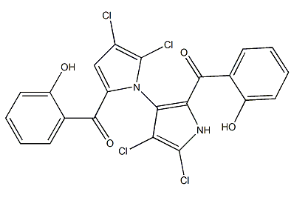 Marinopyrrole A Chemical Structure