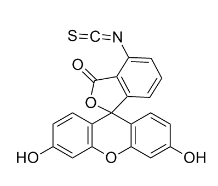 6-Fluorescein Isothiocyanate Chemical Structure