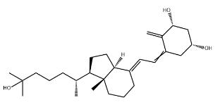 Epi-Calcitriol Chemical Structure