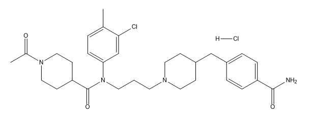 TAK-220 Hydrochloride Chemical Structure