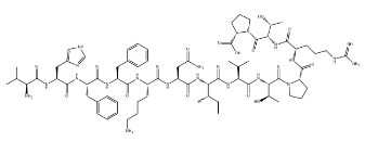 Myelin Basic Protein(87-99) Chemical Structure