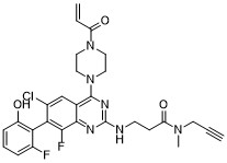 ARS-1323-alkyne Chemical Structure