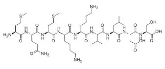 Anti-inflammatory peptide 1 Chemical Structure