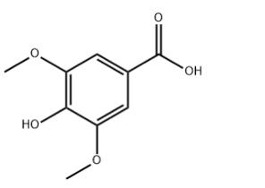 Syringic acid Chemical Structure