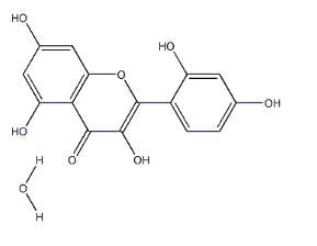 Morin hydrate Chemical Structure