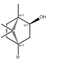 Borneol Chemical Structure