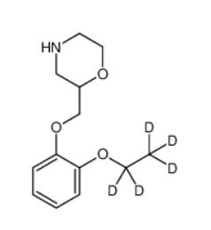 rac Viloxazine-d5 Hydrochloride Chemical Structure