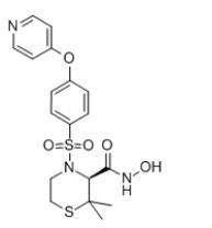 Prinomastat Chemical Structure