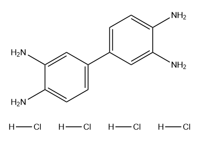 3,3',4,4'-Biphenyltetramine tetrahydrochloride Chemical Structure