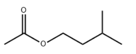 Isoamyl acetate Chemical Structure