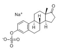 Estrone 3-Sulfate Sodium Salt Chemical Structure