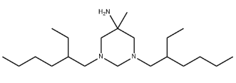 Hexetidine Chemical Structure