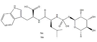 Phosphoramidon disodium 结构式