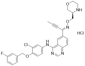 Epertinib hydrochloride Chemical Structure
