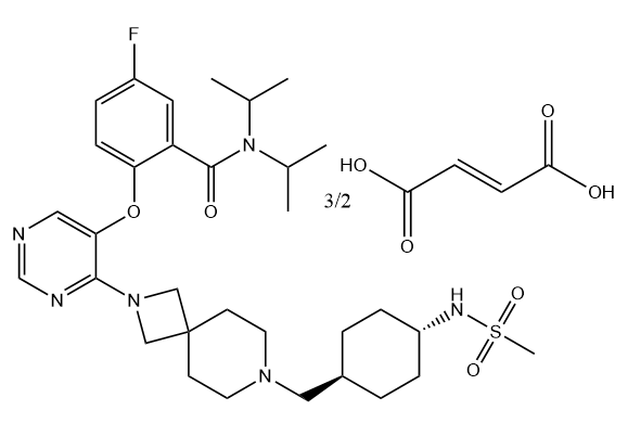 VTP50469 fumarate Chemical Structure
