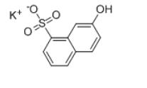 2-Naphthol-8-sulfonic Acid Potassium Salt Chemical Structure
