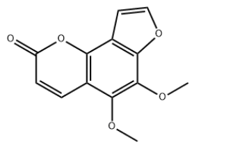Pimpinellin Chemical Structure