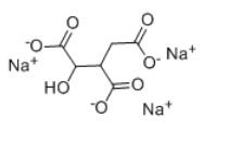 Isocitric acid trisodium salt Chemical Structure