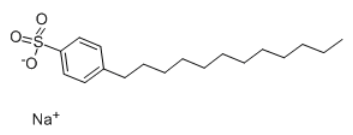 Sodium dodecylbenzenesulphonate Chemical Structure