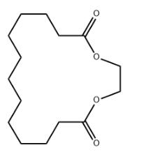 Ethylene brassylate Chemical Structure
