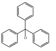 Triphenylmethyl chloride Chemical Structure