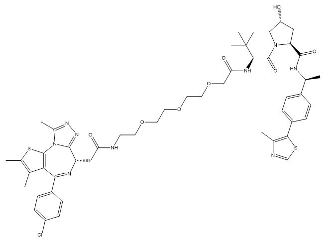 PROTAC BRD4 Degrader-5 Chemical Structure