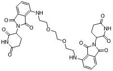 Homo-PROTAC cereblon degrader 1 Chemical Structure