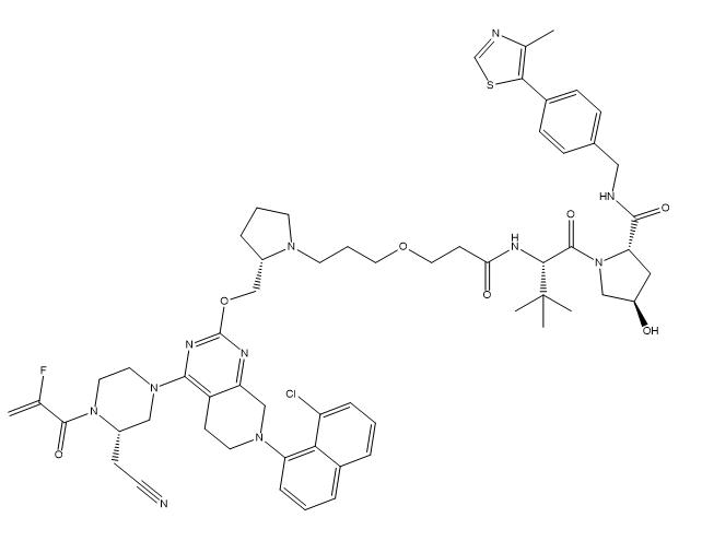 PROTAC KRASG12C Degrader-LC-2 Chemical Structure