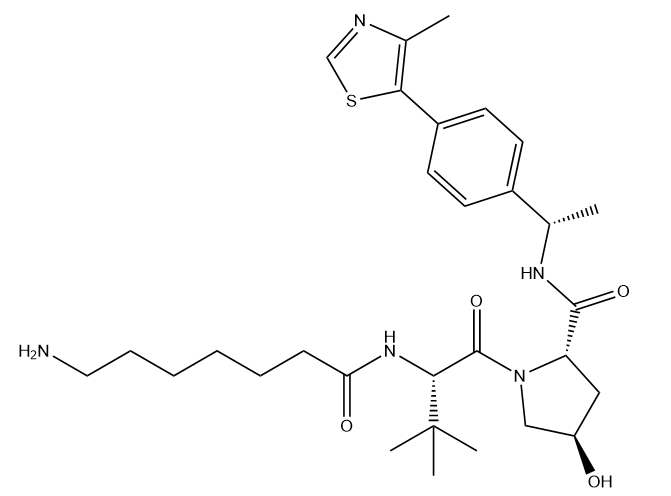 (S,R,S)-AHPC-Me-C6-NH2 Chemical Structure