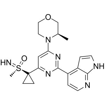 (S)-Ceralasertib Chemical Structure