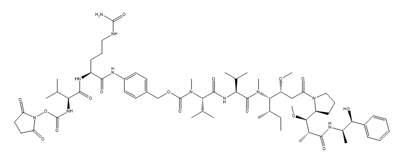 SuO-Val-Cit-PAB-MMAE Chemical Structure