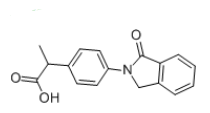 Indoprofen Chemical Structure