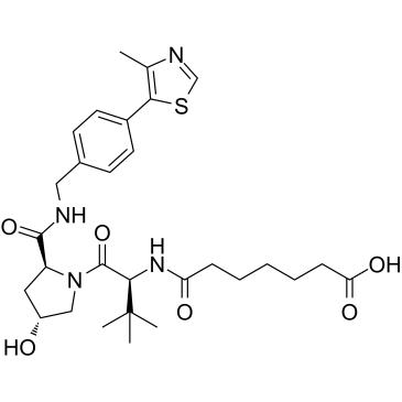 (S,R,S)-AHPC-amido-C5-acid Chemical Structure