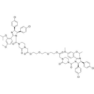 PROTAC MDM2 Degrader-4 Chemical Structure