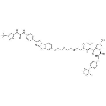 PROTAC FLT-3 degrader 1 Chemical Structure