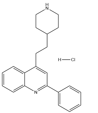Pipequaline HCl Chemical Structure