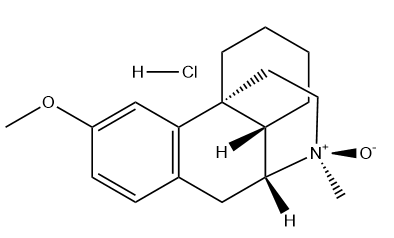 Dextromethorphan N-Oxide Chemical Structure