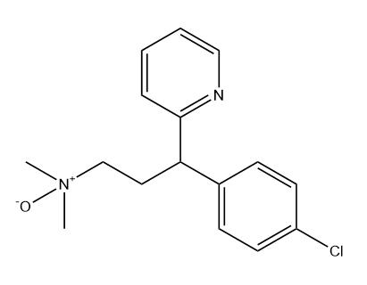 Chlorpheniramine N-oxide Chemical Structure
