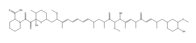 Seco Rapamycin Chemical Structure