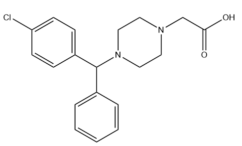 Cetirizine Impurity B HCl Chemical Structure