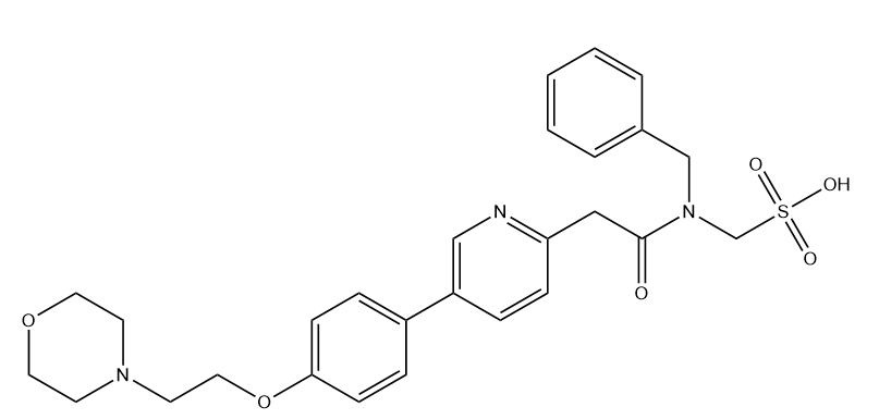 KX2-391 Mesylate Chemical Structure