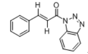 1-Cinnamoyl-1H-1,2,3-benzotriazole Chemical Structure