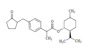 Loxoprofen Related Compound 1 Chemical Structure