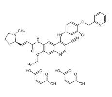 Pyrotinib maleate Chemical Structure