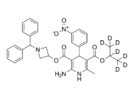 Azelnidipine D7 Chemical Structure