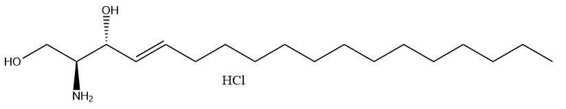 D-erythro-Sphingosine HCl Chemical Structure