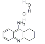 Tacrine hydrochloride hydrate Chemical Structure