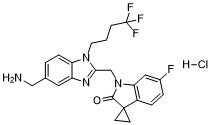 Sisunatovir HCl Chemical Structure